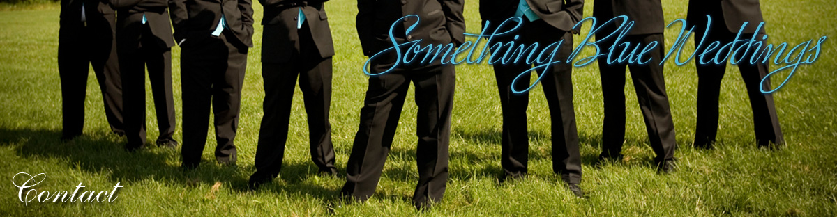 Something Blue Weddings Contact